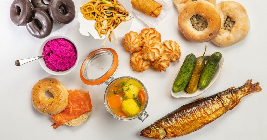 interest in traditional Jewish food